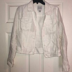 Tommy Bahama White Linen Jacket